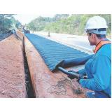 drenagem do solo construção civil