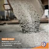 onde comprar aditivo para aumentar a resistência do concreto Codó